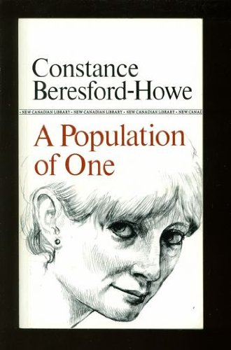 9780771093470: A Population of One (New Canadian Library)