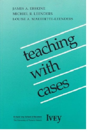 9780771420870: Teaching with Cases