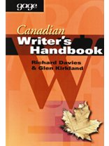Canadian Writer's Handbook: RICHARD DAVIES GLEN KIRKLAND