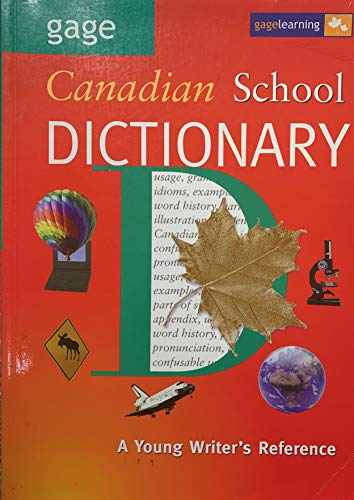 9780771520051: Gage Canadian School Dictionary