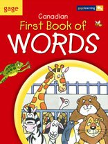 Gage Canadian First Book of Words: Softcover (0771520107) by [???]