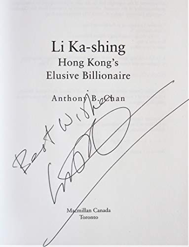 9780771573859: Li Ka-Shing : The Biography
