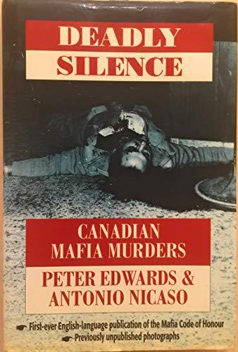 9780771590177: Deadly Silence: Canadian Mafia