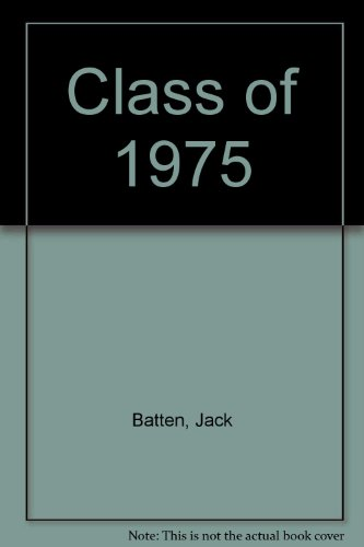 The Class of '75 : Life After Law School