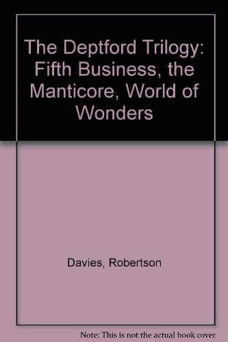 9780771593840: The Deptford Trilogy: Fifth Business, the Manticore, World of Wonders