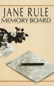 9780771595295: Memory Board