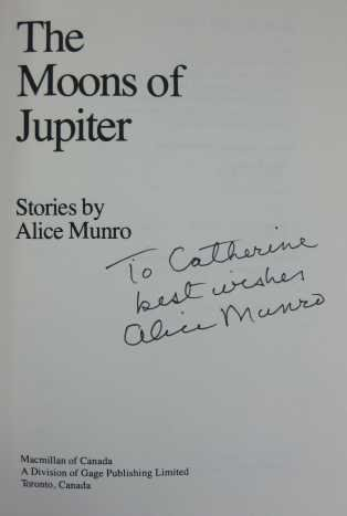 Moons of Jupiter: Stories (9780771597251) by Alice Munro