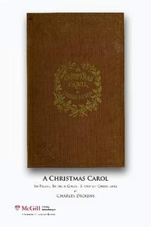 9780771706677: A Christmas carol, in prose, being a ghost story of Christmas