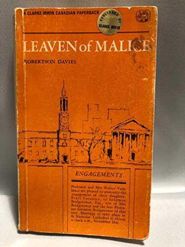 9780772001900: Leaven of Malice