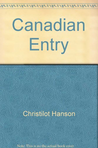9780772005106: Canadian Entry