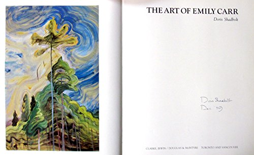 9780772012555: The art of Emily Carr