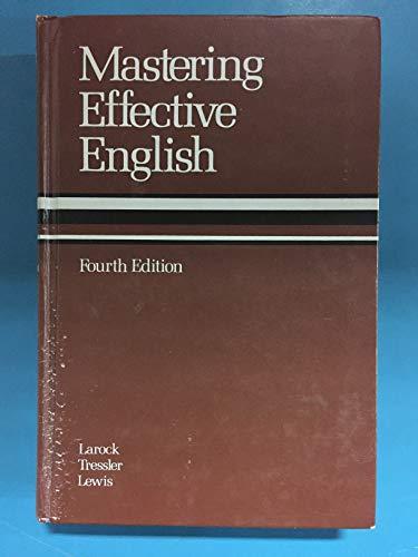 Mastering Effective English
