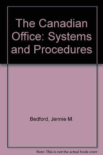 The Canadian Office: Systems and Procedures: Bedford, Jennie M.