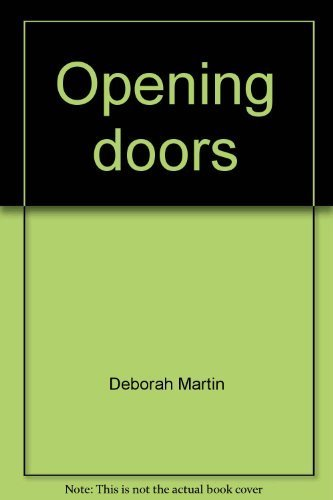 Opening Doors: Thoughts and Experiences of Community Literacy Workers in Alberta