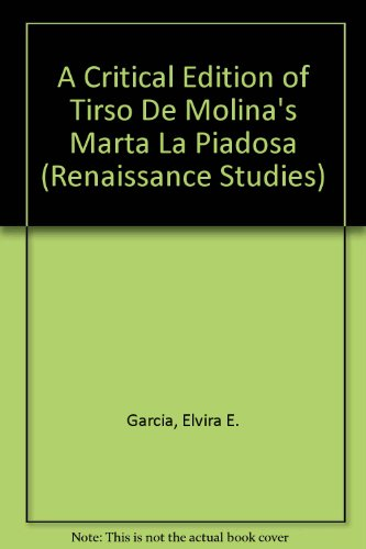 9780773404809: A Critical Edition of Tirso De Molina's