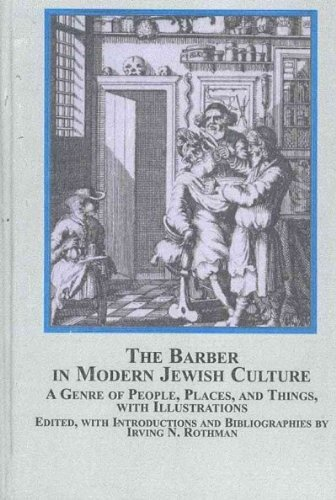 9780773450721: The Barber In Modern Jewish Culture: A Genre of People, Places, and Things, With Illustrations