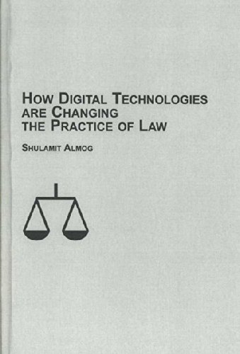 9780773452145: How Digital Technologies are Changing the Practice of Law