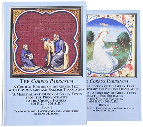 """The """"Corpus Parisinum"""": A Critical Edition of the Greek Text with Commentary and English ..."""