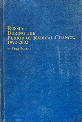 9780773469402: Russia During the Period of Radical Change 1992-2002 (Studies in Russian History)