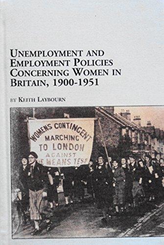 9780773470859: Unemployment and Employment Policies Concerning Women in Britain, 1900-1951 (Women's Studies, 35)