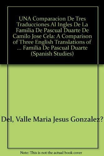 9780773473195: UNA Comparacion De Tres Traducciones Al Ingles De