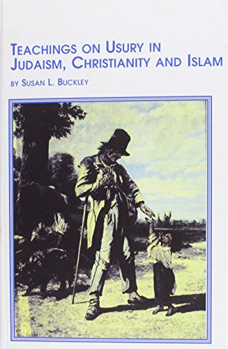 9780773476561: Teachings on Usury in Judaism, Christianity and Islam (Texts & Studies in Religion)