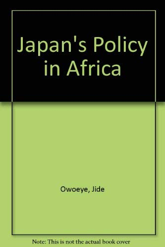 9780773492363: Japan's Policy in Africa
