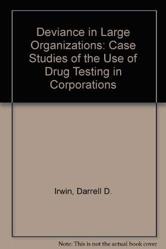 9780773498440: Case Studies of the Use of Drug Testing in Corporations