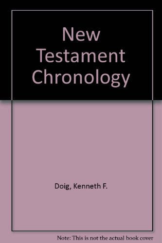 9780773499201: New Testament Chronology