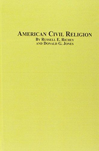 9780773499973: American Civil Religion
