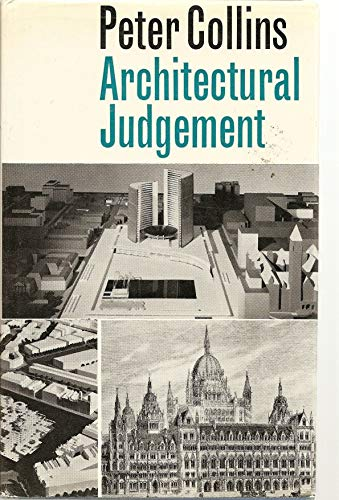 9780773501140: Architectural Judgement