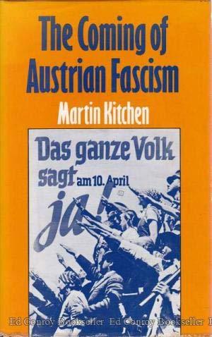 9780773505209: Coming of Austrian Fascism