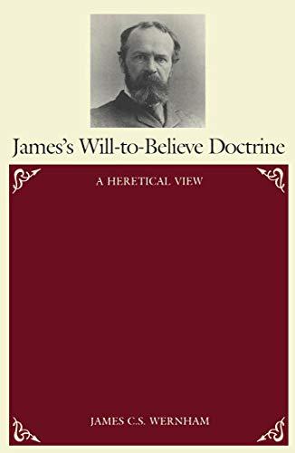 9780773505674: James's Will-To-Believe Doctrine