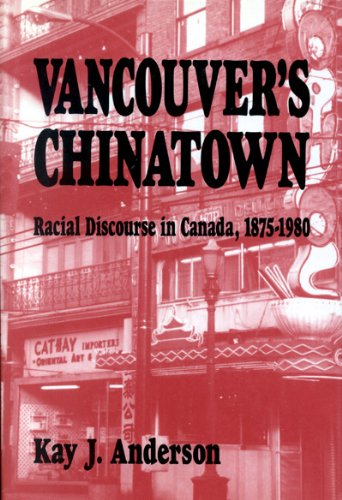 9780773508446: Vancouver's Chinatown (McGill-Queen's Studies in Ethnic History; Series One)