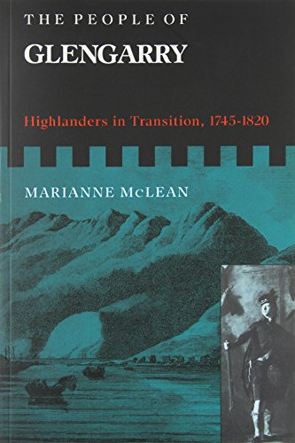 The People of Glengarry - Highlanders in Transition, 1745-1820: McLean, Marianne