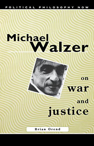 9780773522244: Michael Walzer on War and Justice