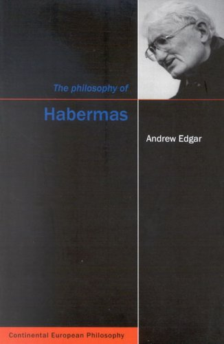 9780773527836: The Philosophy of Habermas (Continental European Philosophy (Hardcover))