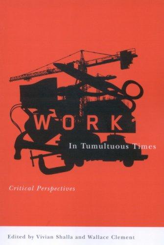 Work in Tumultuous Times - Critical Perspectives: Shalla, Vivian