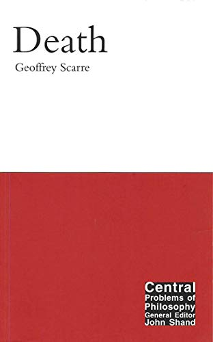 9780773532403: Death (Central Problems of Philosophy)