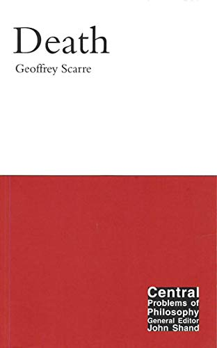 9780773532410: Death (Central Problems of Philosophy)