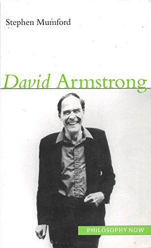 David Armstrong (Philosophy Now): Stephen Mumford
