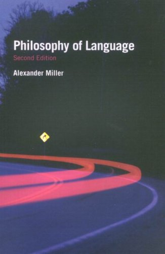9780773533387: Philosophy of Language (Fundamentals of Philosophy)