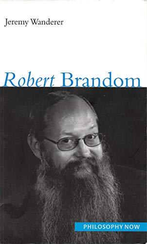 9780773534858: Robert Brandom