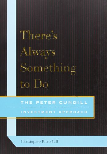 9780773538634: There's Always Something to Do: The Peter Cundill Investment Approach