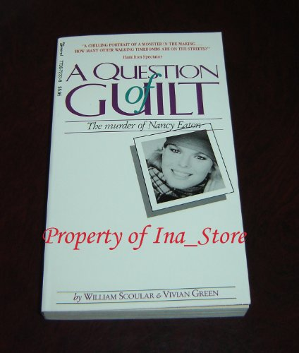 9780773672338: A Question of Guilt: The Murder of Nancy Eaton