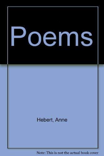 Poems: Anne Hebert