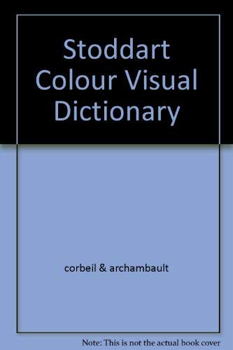 9780773726482: Stoddart Colour Visual Dictionary