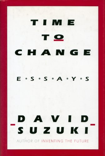 9780773727601: Time to Change: Essays