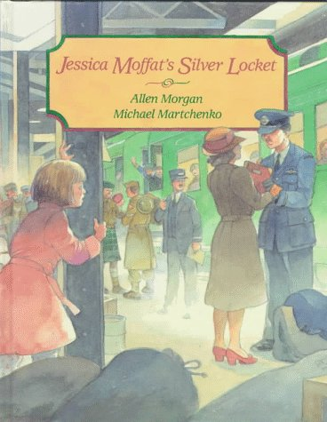Jessica Moffat's Silver Locket: Morgan Allen, Illustrated