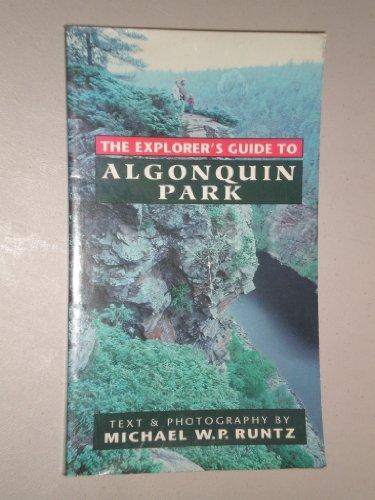 9780773755710: Explorers Guide to Algonquin Park